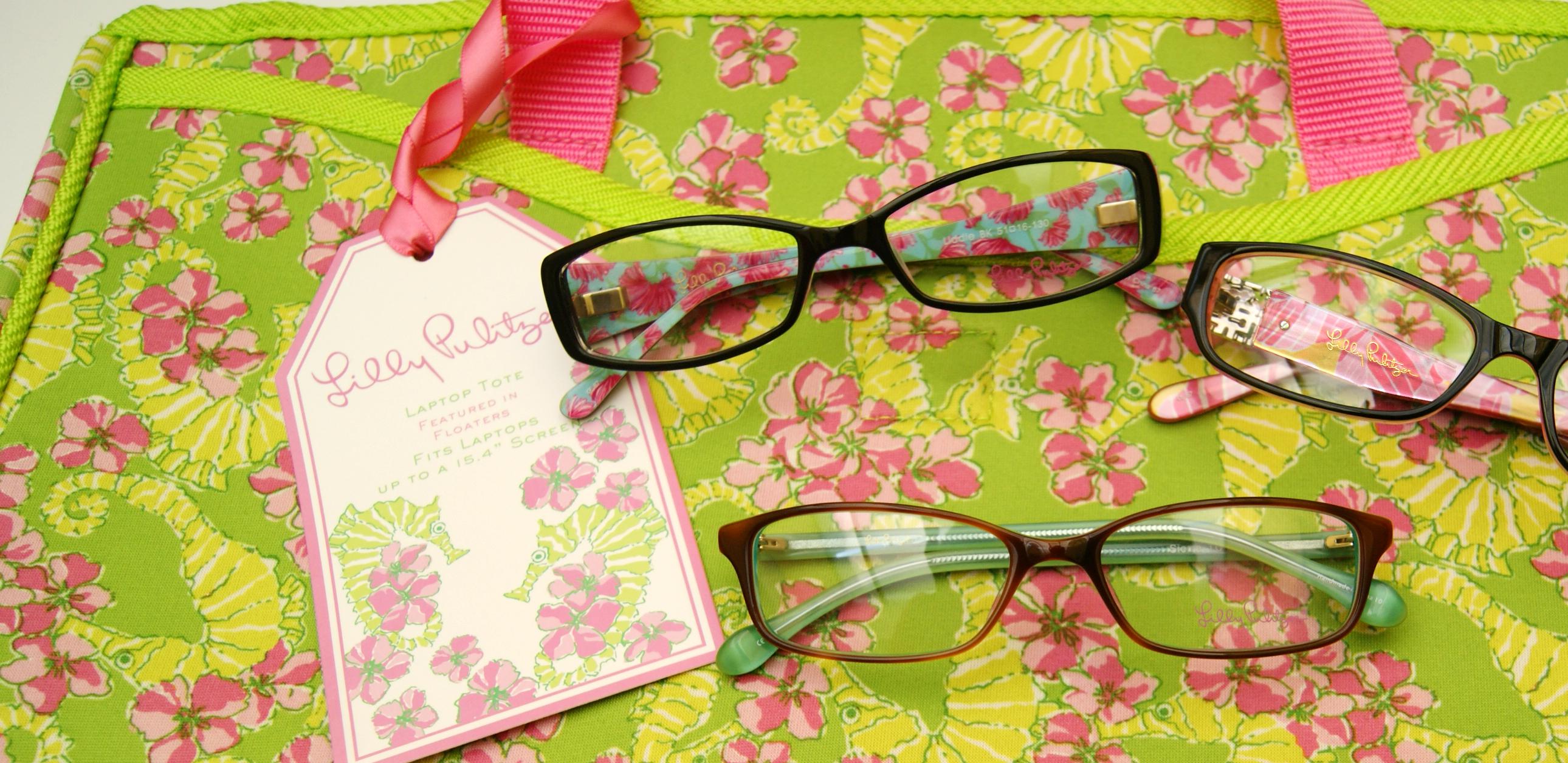 Lilly Pulitzer Fall 2011 Eyewear and Accessories | Haddonfield Eyewear
