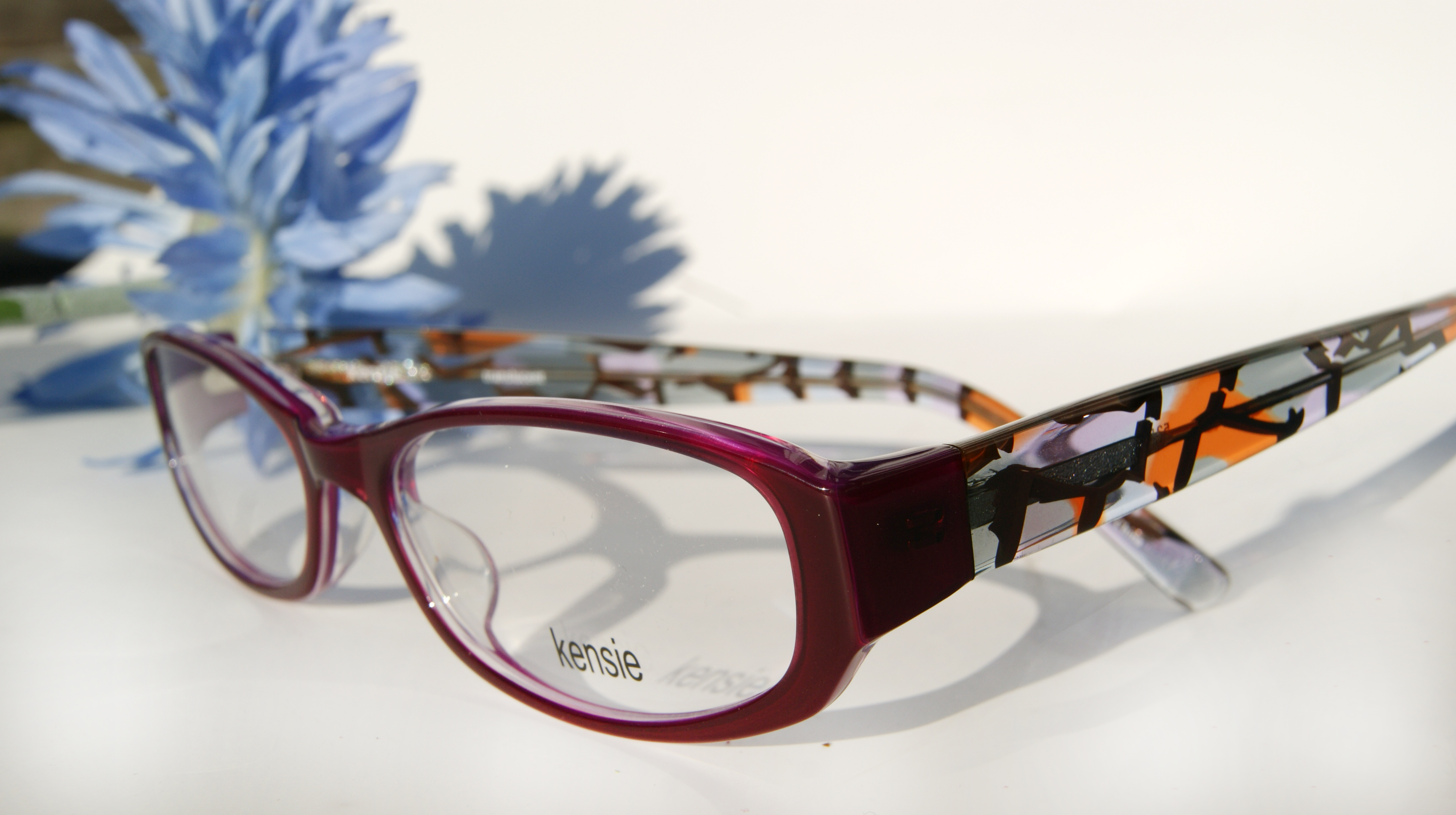 blue trend eyeglasses | Haddonfield Eyewear