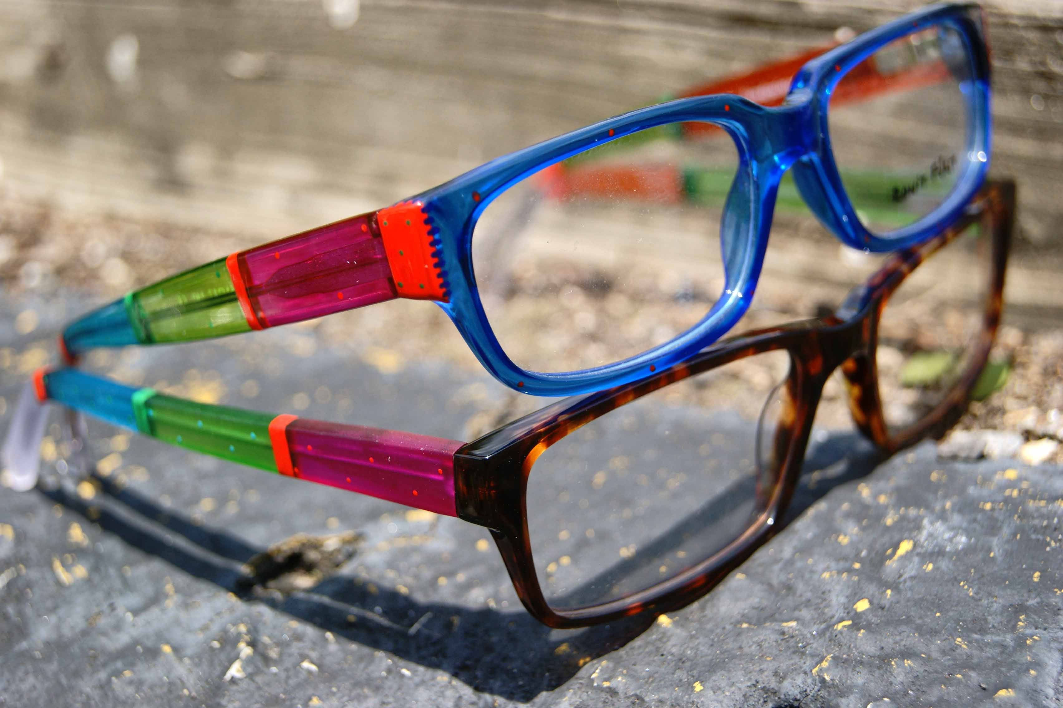 ronit furst custom painted eyewear 2012 collection